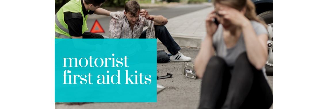 Motorist first aid kits