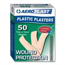 Adhesive strips - Plastic- pk 100