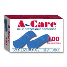 Blue detectable adhesive Strips pk 100
